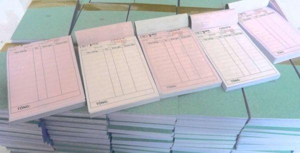 điểm bất cập của hóa đơn giấy