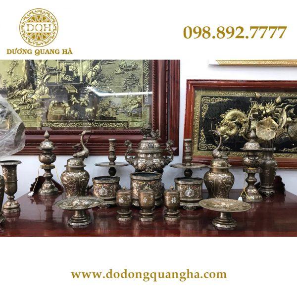 Đồ đồng Dương Quang Hà là đơn vị cung cấp đồ thờ cúng bằng đồng uy tín và chuyên nghiệp