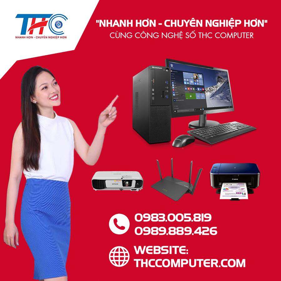 THC Computer - Chuyên cho thuê thiết bị văn phòng