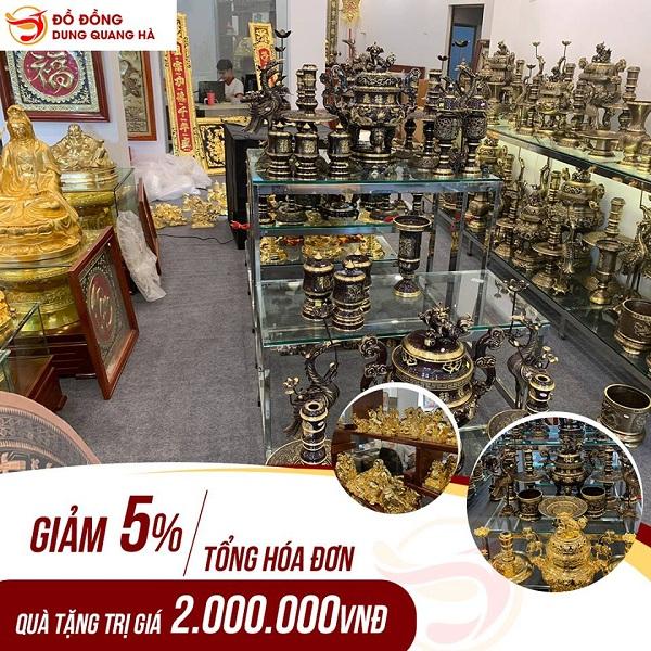 khai trương showroom Dung Quang Hà