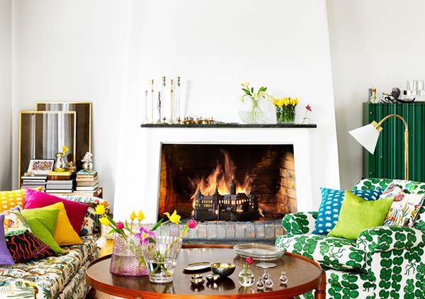 thiết kế nội thất theo phong cách chiết trung