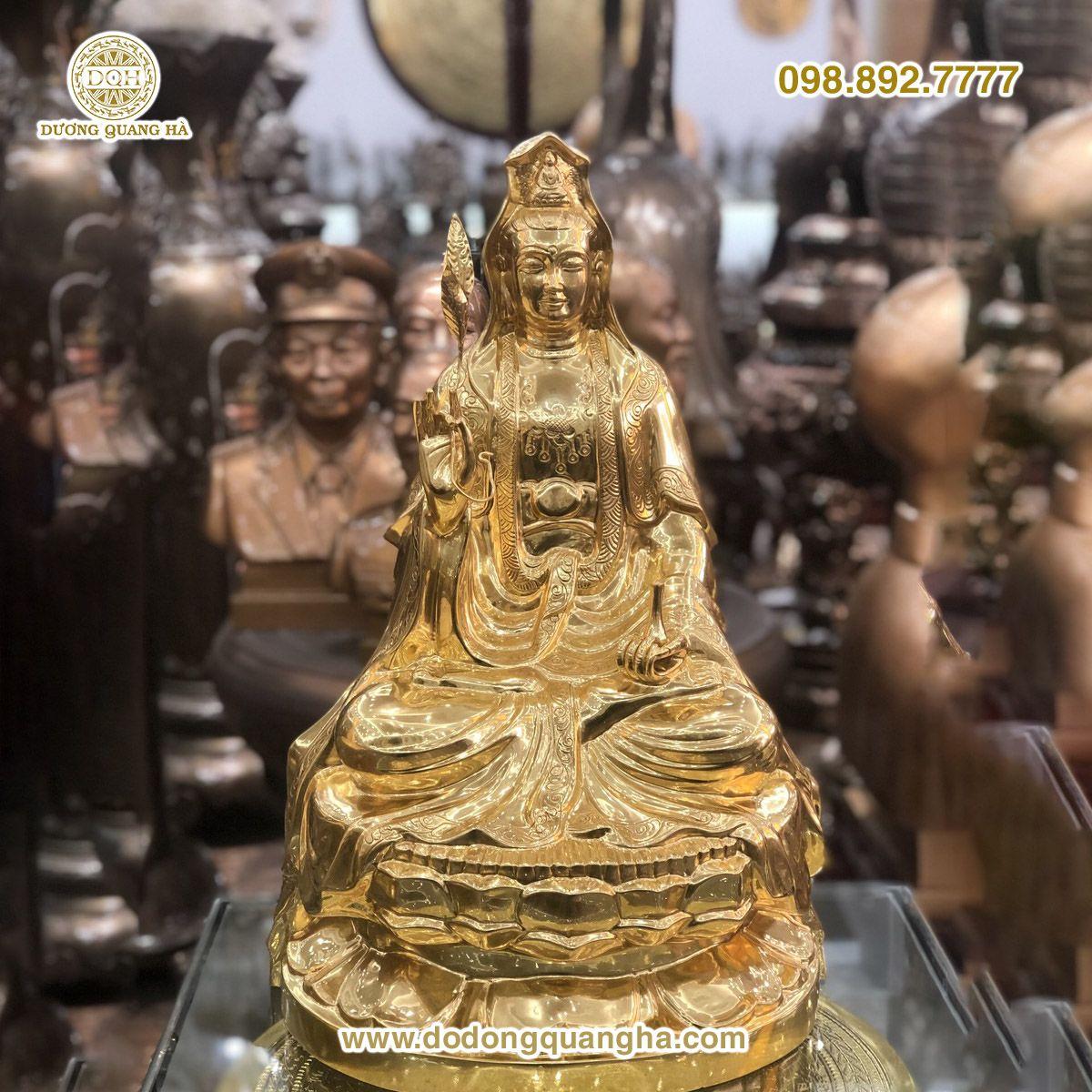 Tượng đồng Phật Bà Quan Âm