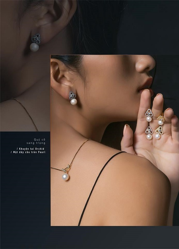 Trang sức thiết kế DMari - khơi dậy chất thơ trong nét đẹp của nàng