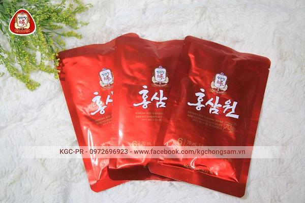 Nước uống hồng sâm Won KGC POUCH