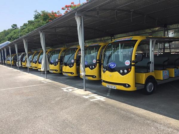 Xe điện chở khách tại các khu du lịch chưa được phép tham gia giao thông, lý do vì sao?