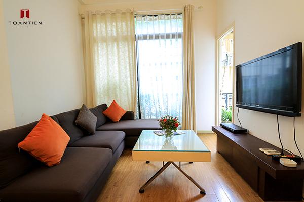 Không gian nghỉ dưỡng vừa lạ vừa quen tại căn hộ 3/2/535 Kim Mã