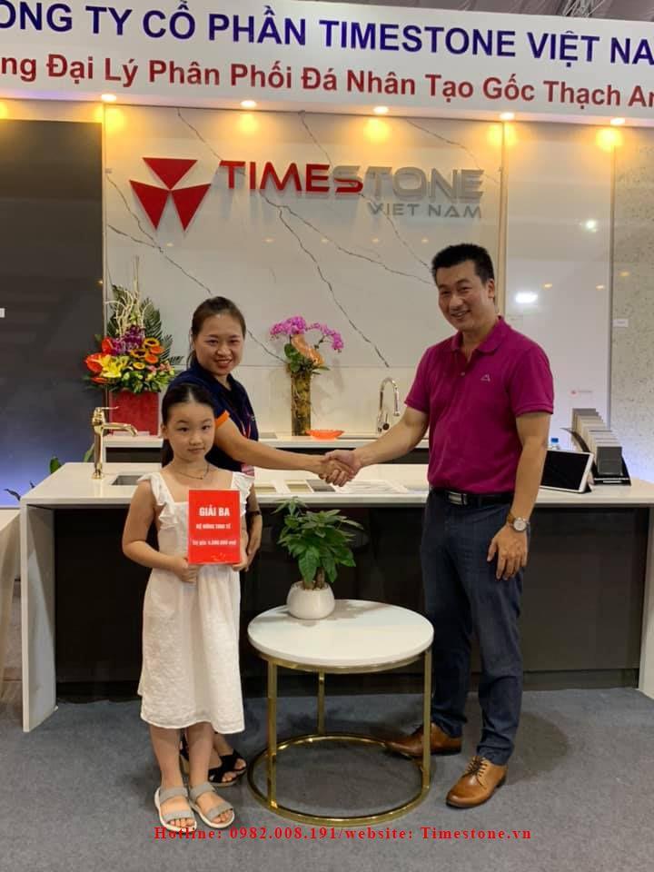 Timestone Việt Nam và những hình ảnh đẹp tại triển lãm Vietbuild 2019