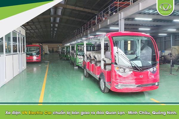 Hiện đại hóa dịch vụ tại khu du lịch - resort với xe điện VN Electric Car