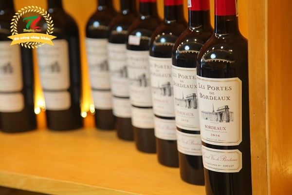 rượu vang Pháp tại Cầu Giấy