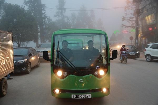 Giảm ô nhiễm cho các đô thị lớn với xe ô tô điện 4 bánh