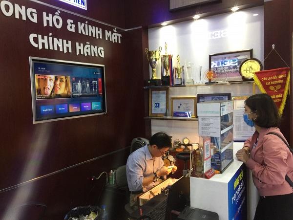 Thay pin đồng hồ quận Long Biên