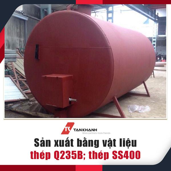 bồn chứa xăng dầu Tân Khánh