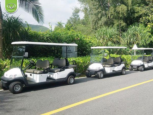 Giải pháp di chuyển xanh trong resort, khu du lịch với xe điện 6 chỗ