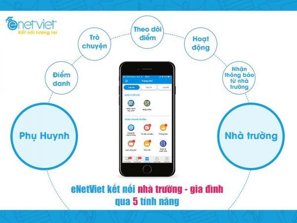 Kết nối hoạt động của nhà trường và phụ huynh hiệu quả hơn nhờ ứng dụng eNetViet