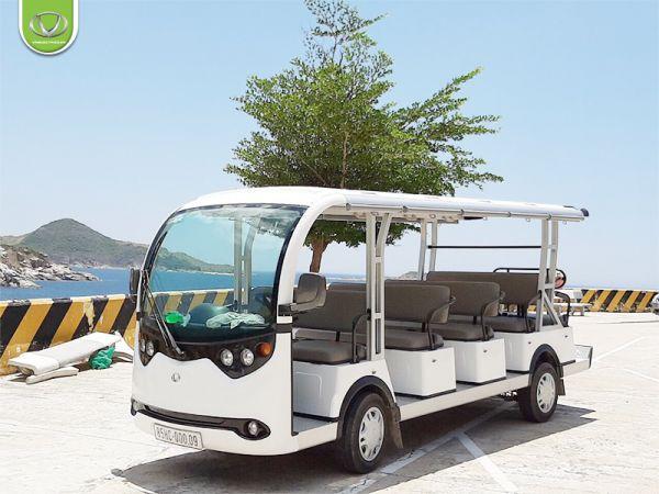 Xe điện chở khách du lịch - Tiện ích nâng tầm đẳng cấp resort