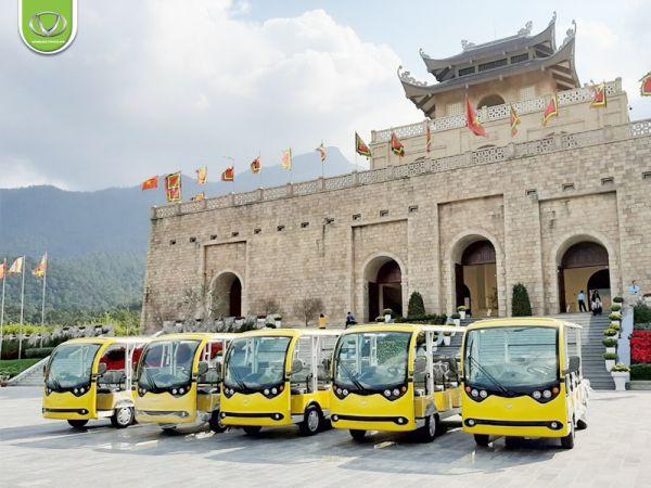 Xe điện resort Tùng Lâm