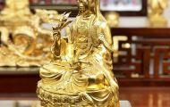 Tại sao tượng Phật bằng đồng mạ vàng luôn được nhiều khách hàng ưa chuộng?