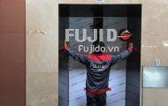 Fujido được sân bay Nội Bài tin tưởng chọn làm đơn vị thi công tấm ốp inox thang máy