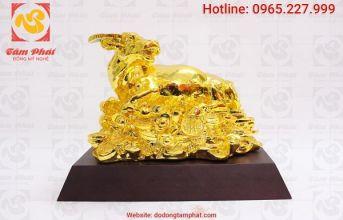 Độc đáo, ý nghĩa với quà tặng mạ vàng trong dịp lễ tết