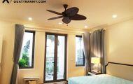 Lắp đặt quạt trần phòng ngủ cần lưu ý điều gì?