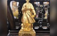 Tinh xảo và uy nghiêm với tượng đồng Hưng Đạo Vương