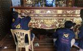 Dịch vụ mạ/dát vàng thực hiện ngay tại nhà khách hàng của Đồng Tâm Phát