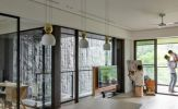 Ngôi nhà mang phong cách mở có 3 thế hệ sống chung