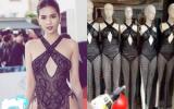 Vừa gây sốt tại Cannes, chiếc váy của Ngọc Trinh được bán la liệt, đồng giá 130.000 đồng