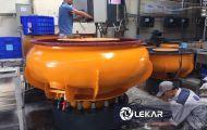 Xử lý cạnh sắc nhọn của sản phẩm kim loại hiệu quả với máy mài bavia