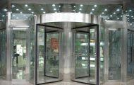 Lợi ích mà thiết bị cửa tự động quay tròn mang lại cho các công trình hiện đại