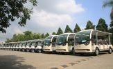 22 xe điện Tùng Lâm được bàn giao cho Công ty TNHH KN Cam Ranh - Khánh Hòa