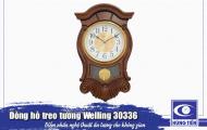 Đồng hồ treo tường Welling 30336 - điểm nhấn ấn tượng cho phòng khách cổ điển