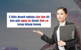 Khủng hoảng doanh nghiệp: 3 điều cần làm để biến nguy cơ thành thời cơ