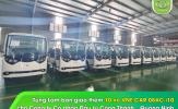 Công ty CP Đầu tư Công Thành - Quảng Ninh tiếp tục chọn lựa Tùng Lâm là đơn vị cung cấp xe điện