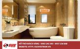 Sự lựa chọn tinh tế cho nhà tắm với gương bạc ròng