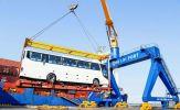 THACO xuất khẩu hơn 200 ô-tô và linh kiện phụ tùng ô-tô