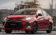 Toyota Vios 2021 có bản 'xe đua', hộp số ảo 10 cấp