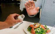 Không nên tạo thói quen ăn mặn