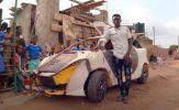 Giấc mơ xe hơi 200 USD của thiếu niên nghèo Ghana