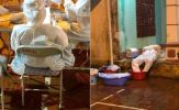Thầy trò trường y treo đá lạnh trên người khi chống dịch ở Bắc Giang