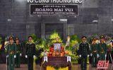 Xúc động lễ viếng Liệt sỹ - Đại tá Hoàng Mai Vui ở quê nhà Thanh Hóa