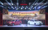 Honda City 2021 được ra mắt tại Việt Nam