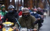 Các tỉnh Bắc Bộ lạnh về đêm, Trung Bộ và Nam Bộ mưa dông