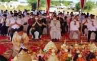 Khởi công xây dựng Đài hữu nghị Campuchia-Việt Nam ở Tbong Khmum