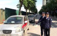 Khởi tố nhóm bảo vệ xịt sơn vào hàng loạt ô tô đỗ ven đường
