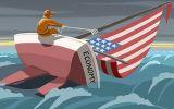 'Kỳ đà' cản đường kinh tế Mỹ hướng tới kỷ nguyên tăng trưởng vàng