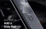 Nokia 8000 4G lộ diện: màn hình 2,8 inch, Snapdragon 210, WhatsApp và Facebook