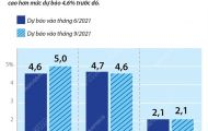 ECB nâng dự báo tăng trưởng của khu vực Eurozone