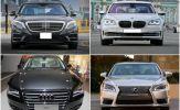 Kẽ hở đánh thuế xe 1,5 tỷ đồng: Mua Lexus, Audi đăng ký chạy Grab