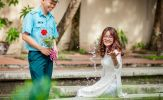 Chuyện tình yêu xa đẹp như cổ tích của cặp đôi Thái Bình